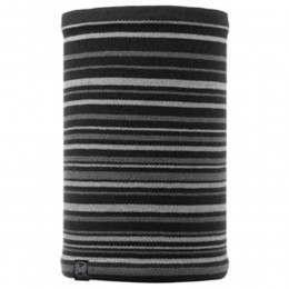 Buff Laki Stripes Neckwarmer Black/Black