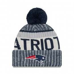 New Era New England Patriot Bobble Knit Beanie OTC