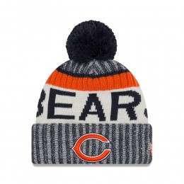 New Era Chicago Bears Bobble Knit Beanie OTC
