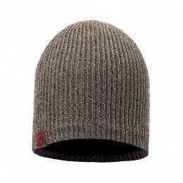 Buff Lyne Beanie Brown Taupe