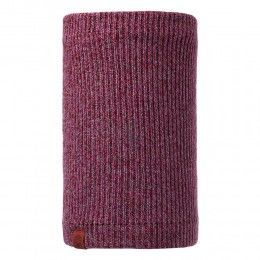 Buff Lyne Knitted Neckwarmer Heather Rose