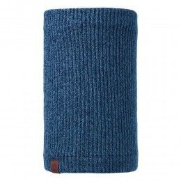 Buff Lyne Knitted Neckwarmer Mazarine Blue