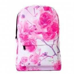 Spiral Forever Roses Backpack Pink