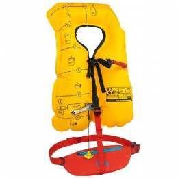 Palm Glide Inflatable PFD Waistbelt Red