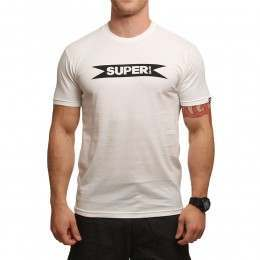 SUPERbrand Super Tee White