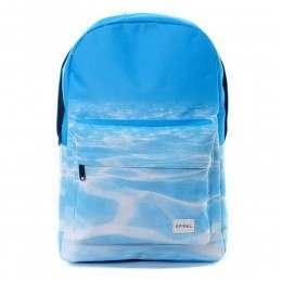 Spiral Seabed Backpack Blue