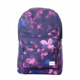 Spiral Midnight Waterflower Backpack Blue