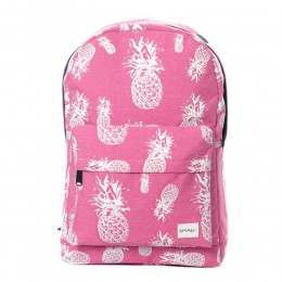 Spiral Pineapple Backpack Pink
