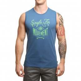Protest Phil Tank Top Blue Gas