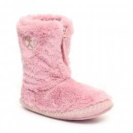 Bedroom Athletics Marilyn Slipper Boots Dusky Pink