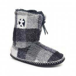 Bedroom Athletics McQueen Slipper Boots Navy/Wht