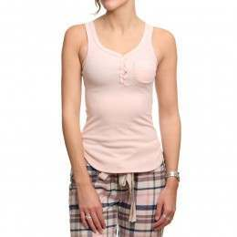 Bedroom Athletics Scarlett Pyjama Top Rose