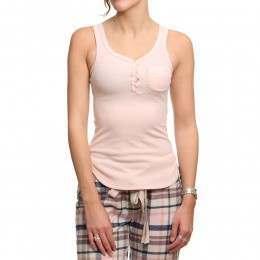 Bedroom Athletics Scarlett Pyjama Top Rose