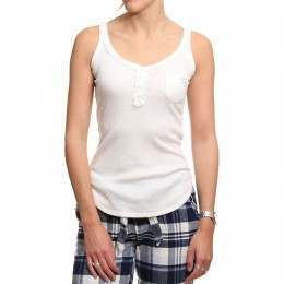 Bedroom Athletics Maisie Pyjama Top Whisper White