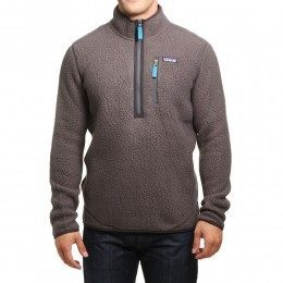 Patagonia Retro Pile Pullover Forge Grey