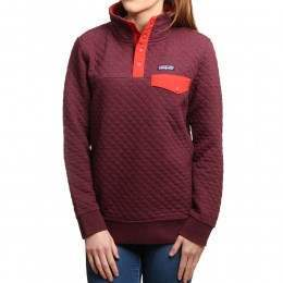 Patagonia Cotton Quilt Snap-T Pullover Vio Red