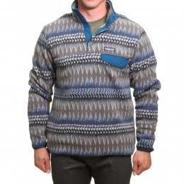 Patagonia Synchilla Snap-T Pullover Smoulder Blue