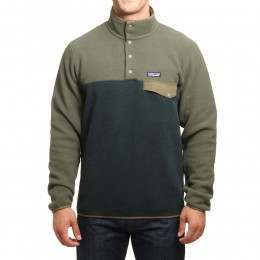 Patagonia Synchilla Snap-T Pullover Indust Green