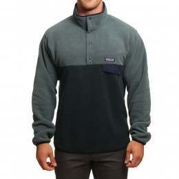 Patagonia LW Synchilla Snap-T Pullover Carbon