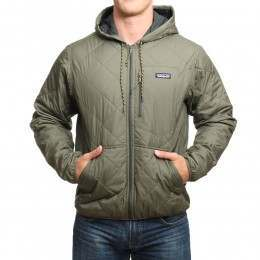 Patagonia Diamond Quilt Bomber Jacket Ind Green