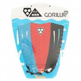 Gorilla Grip Mojo Surfboard Deck Pad 3 Way