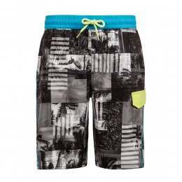 Protest Boys Burro Boardshorts True Black