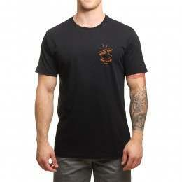 Pukas Wave Killers Tee Black