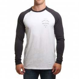 Pukas Amigos Long Sleeve Top White