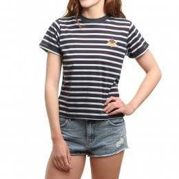 Pukas Curious Tee Black Stripes