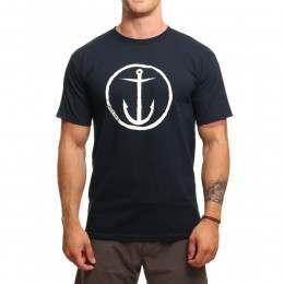 Captain Fin Original Anchor Tee Navy/White