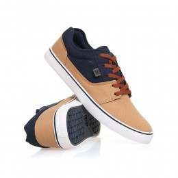 DC Tonik TX Shoes Navy/Khaki