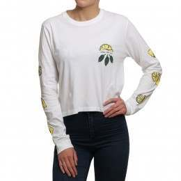 Pukas Acid Long Sleeve Top White