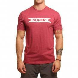 SUPERBrand Super Tee Cherry Heather