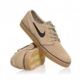 Nike SB Stefan Janoski Shoes Khaki/Black-Gum