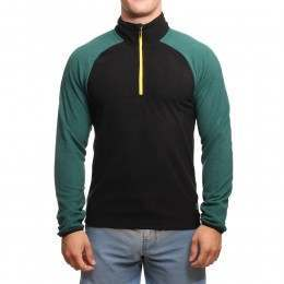 ONeill 1/2 Zip Ventilator Fleece Botanical Green