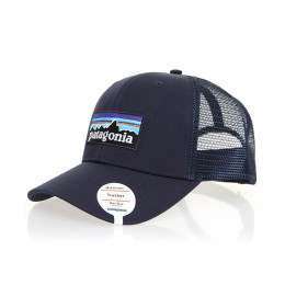 Patagonia P6 Logo Trucker Cap Navy Blue/Navy Blue