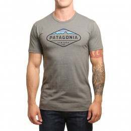 Patagonia Fitz Roy Crest Tee Industrial Green
