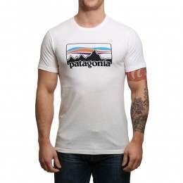 Patagonia '73 Logo Tee White