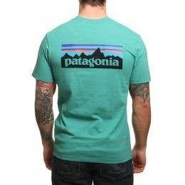 Patagonia P6 Logo Tee Beryl Green