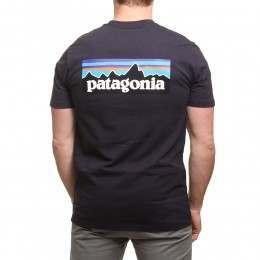 Patagonia P6 Logo Tee Piton Purple