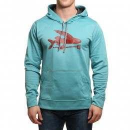 Patagonia Flying Fish PolyCycle Hoody Mogul Blue
