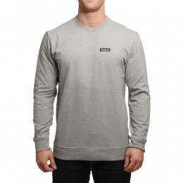 Patagonia P6 Label Crew Feather Grey