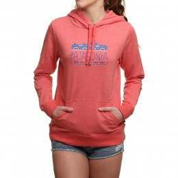 Patagonia Femme Fitz Roy Hoody Spiced Coral