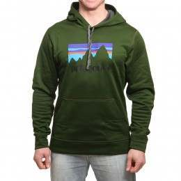 Patagonia Shop Sticker PolyCycle Hoody Glade Green