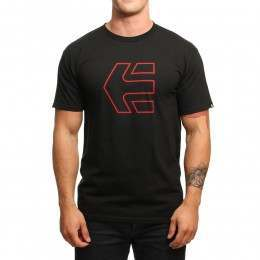Etnies Icon Outline Tee Black/Red
