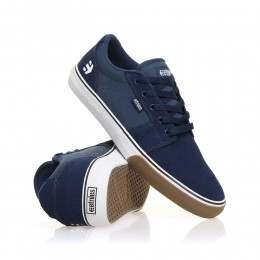 Etnies Barge LS Shoes Blue/White/Gum