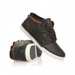 Etnies Jefferson Mid Shoes Dark Grey
