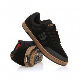Etnies Marana Shoes Black/Red/Gum