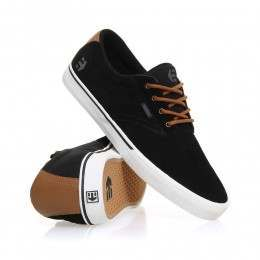 Etnies Jameson Vulc Shoes Black/Brown/Grey