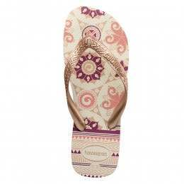 Havaianas Spring Sandals White/Rose Gold
